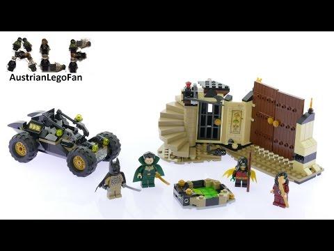 LEGO 76056 DC COMICS Super Heroes Batman Ra/'s al Ghuls Rache Talia al Ghul Robin