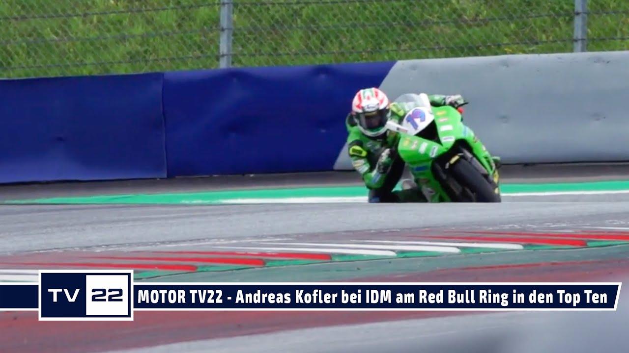 MOTOR TV22: Motorrad Rennfahrer Andreas Kofler fährt am Red Bull Ring zwei Mal in die Top Ten