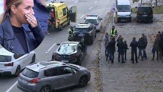 Cibulková v šoku. Policajt kvôli nej spôsobil dopravný chaos