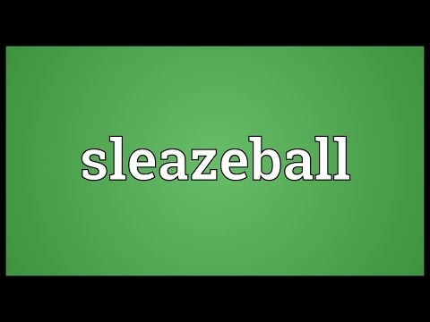 Header of sleazeball