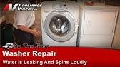 Not agitating GE washer - YouTube