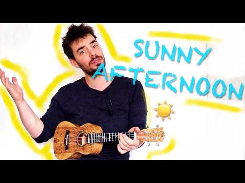 SUNNY AFTERNOON - Ukulele Tutorial - Extended - The Kinks