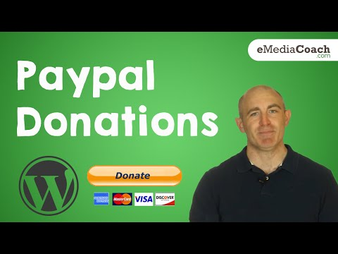 Add And Accept Paypal Donations On WordPress