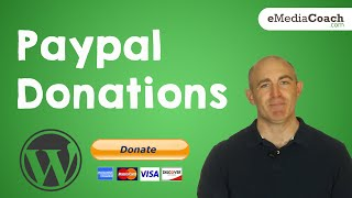Add and Accept Paypal Donations on WordPress thumbnail