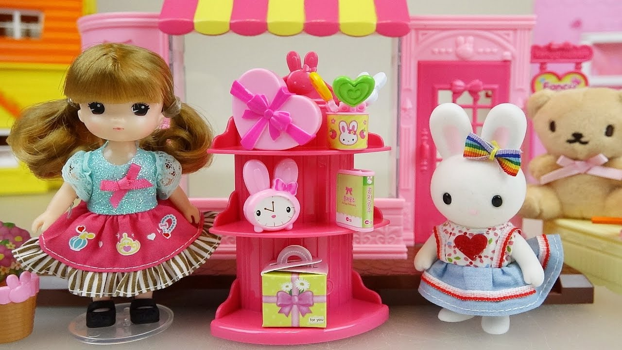 baby doll and rabbit