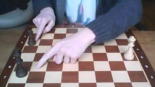 шахматы для начинающих 6 урок : прием рогатка