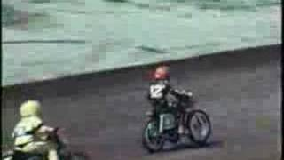 1972 Motorcycle Race at Valley Speedway in Helena, Montana