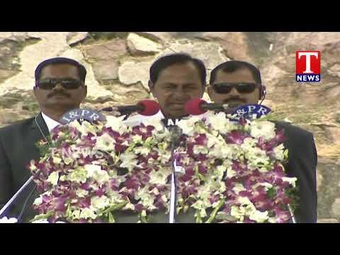 CM KCR Full Speech | 73rd Independence Day Celebrations At Golconda | TNews Telugu