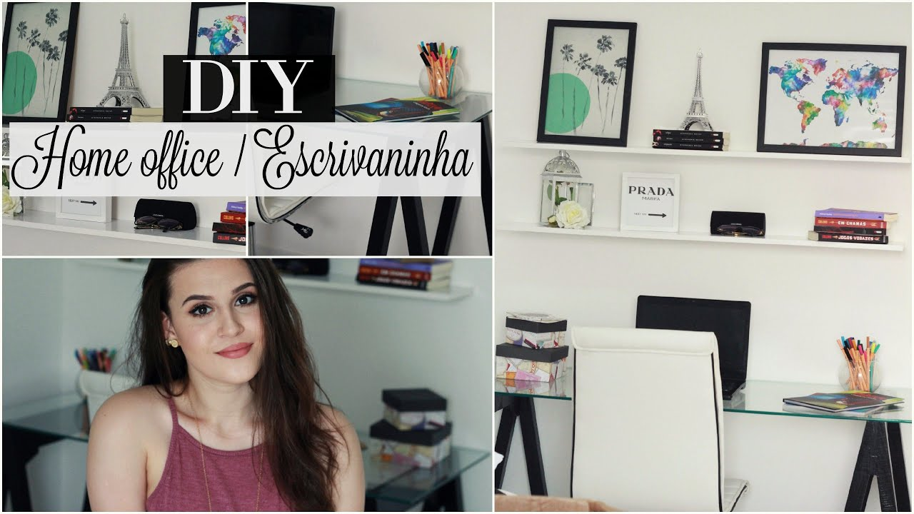 DIY Faa seu prprio Home Office Escrivaninha YouTube