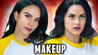 veronica lodge makeup tutorial riverdalearchie halloween costume idea 2017