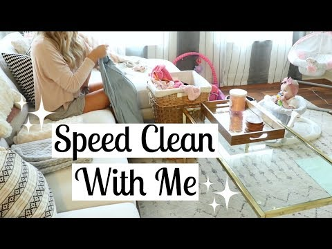 SAHM POWER HOUR CLEAN WITH ME | CLEANING MOTIVATION | Tara Henderson
