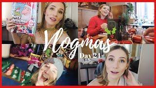 IT'S CHRISTMAS EVE!!! | VLOGMAS DAY 24 | Georgie Ashford