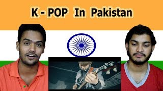 Indian reaction on K-POP In Pakistan | Swaggy d