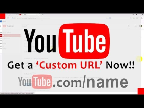How To Get A Custom URL On Youtube? (YT.com/Yourname) | Youtube URL Change