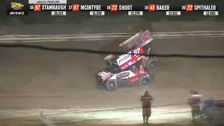 ASCoC Sprint Car A Main   Wayne County Speedway 9 2 2019