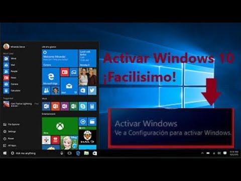¡Activar Windows 10 cualquier versión 2018-20…