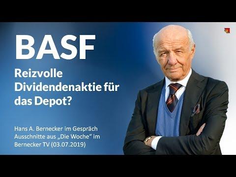 BASF - Reizvolle Dividendenaktie für das Depot?