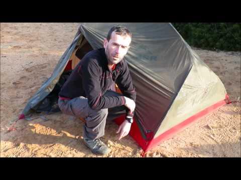 RayonRando.com : Test De La Tente Hubba Hubba NX De MSR