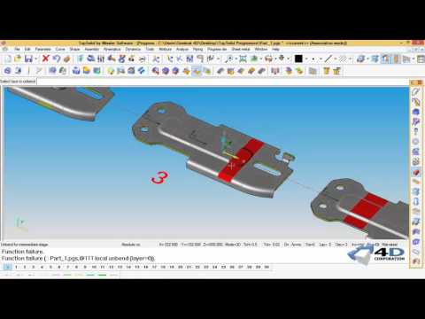 TopSolid Progress : Part 1 How to create progressive 3D strip layout.