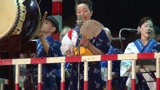 ドンパン節 日本民謡同好会 第53回 南御堂盆おどり 2015.08.27