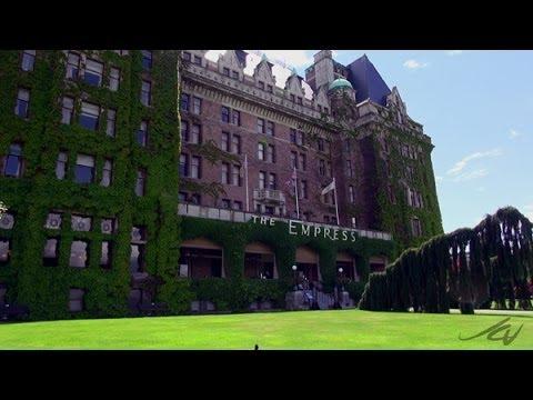 The Fairmont Empress Hotel - Victoria BC - Walking Tour -  YouTube
