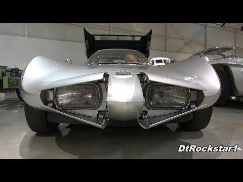 Concept Cars Popping Their Headlights | CERV III, Isdera, Cizeta