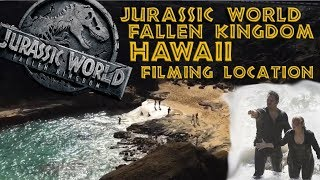 Jurassic World Fallen Kingdom filming location, Chris Pratt was here!
