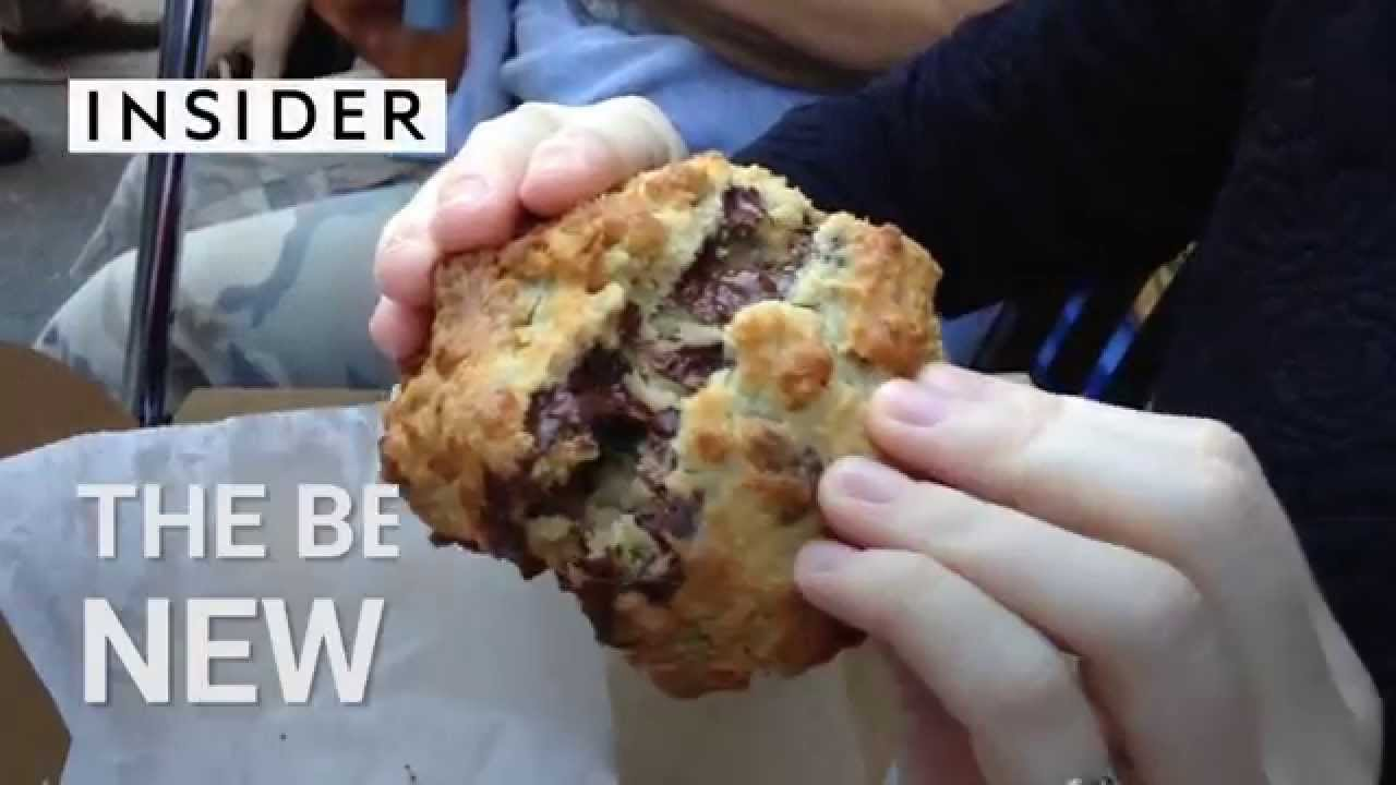 Here It Is The Best Cookie In All Of New York
