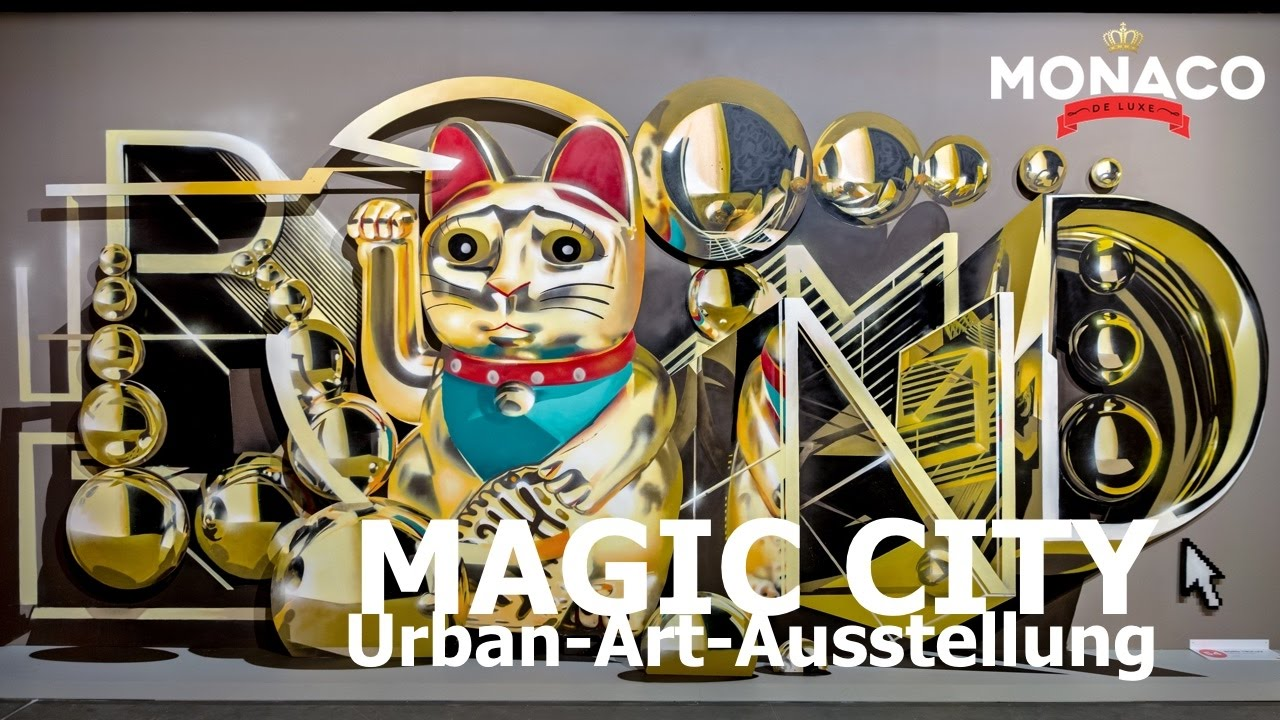 magic city ausstellung in m nchen urban art olympiapark kleine olympiahalle street art. Black Bedroom Furniture Sets. Home Design Ideas
