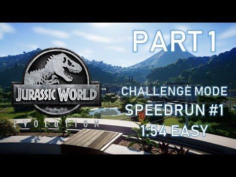 Jurassic World: Evolution – Challenge Mode Speedrun #1 [PART 1] [TIPS & TRICKS]