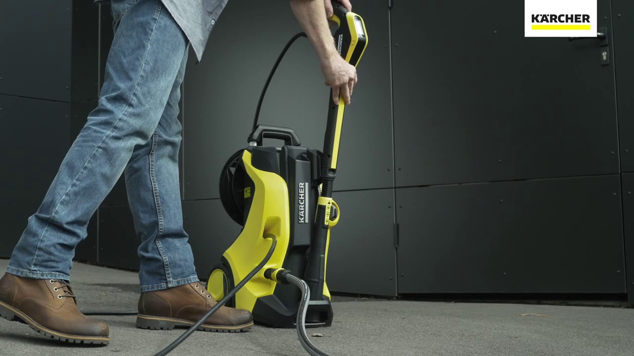 karcher new k5 premium full control home plus cold pressure washer youtube. Black Bedroom Furniture Sets. Home Design Ideas