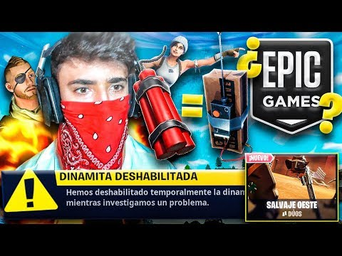 EPIC GAMES se ríe de NOSOTROS...