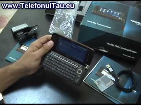 Nokia E90 Review ( Romanian )