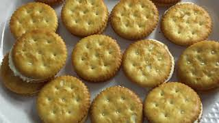 Julie's Cheese Sandwich Cookies