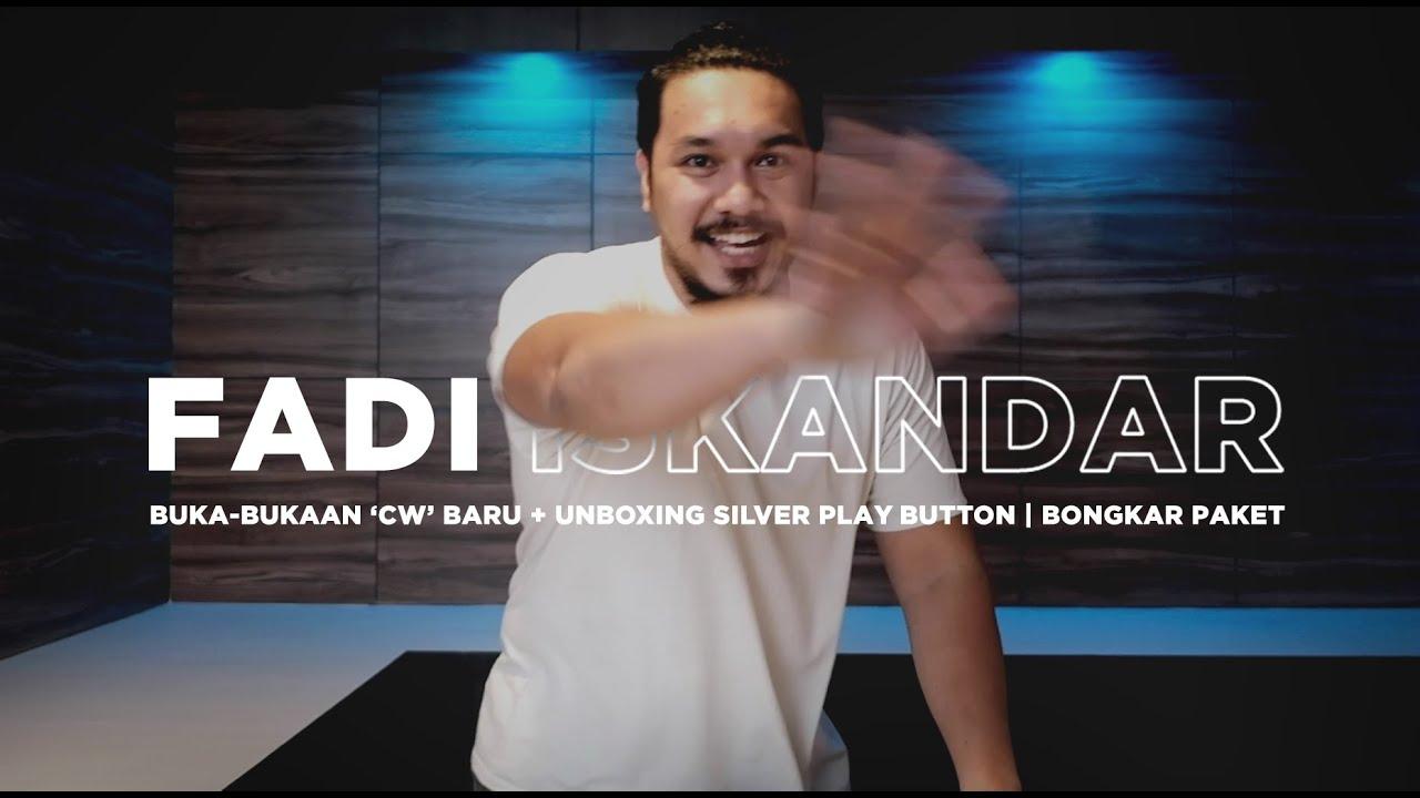 Buka-bukaan 'cw' baru + unboxing silver play button    Bongkar Paket