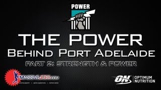 Massivejoes.com - The Power Behind Port Adelaide Part Iii: Strength & Power - Afl Supplements Pafc