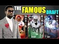 THE FAMOUS DRAFT! PLAYER WITH THE MOST INSTAGRAM FOLLOWERS IN EVERY ROUND! Madden 17 Draft Champions