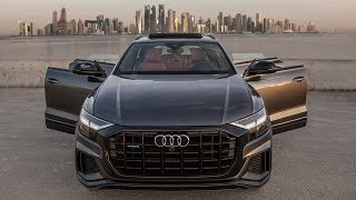 2019 AUDI Q8 55TFSI - BEAUTY! Daytona gray/brown interior - Beautiful locations - In detail