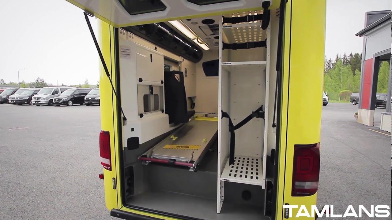 volkswagen amarok ambulanse