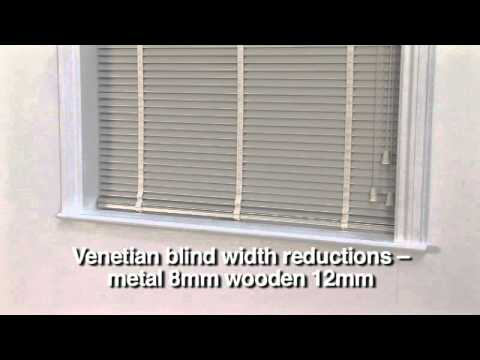 How to measure for Venetian Blinds - LAURA ASHLEY