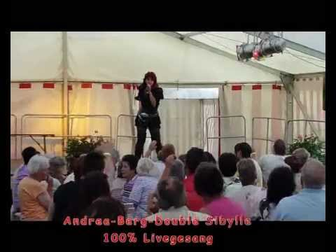 andrea berg double live show mit sibylle youtube. Black Bedroom Furniture Sets. Home Design Ideas