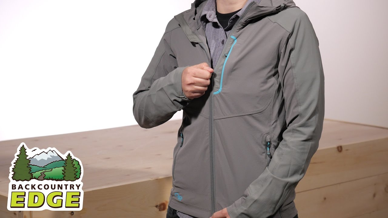 f3237e1841ef Outdoor Research Women s Ferrosi Hooded Jacket - YouTube