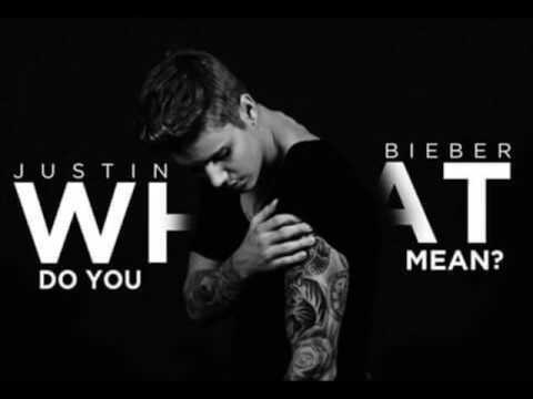 justin bieber what do you mean mp3