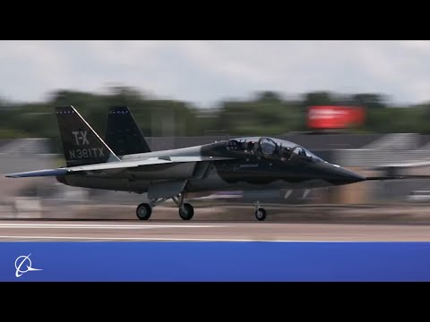 Boeing T-X Begins EMD Flight Tests