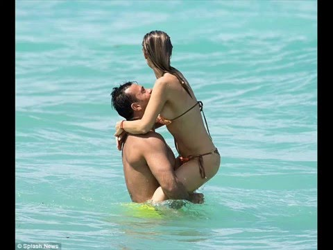Joanna Krupa with husband Romain Zago