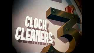"Mickey Mouse - ""Clock Cleaners"" (1937) - recreation titles"