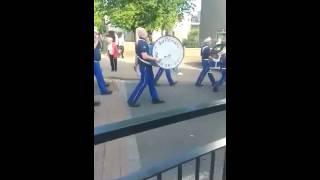 Saltcoats Protestant Boys -Apprentice Boys Return parade Irvine 2016