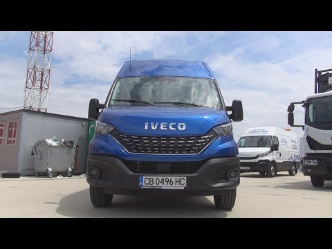 Iveco Daily 35 160 HI-MATIC Panel Van (2019) Exterior and Interior