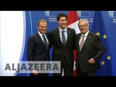 CETA: EU and Canada sign historic trade deal