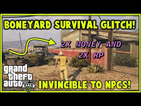 2X MONEY AND RP SURVIVAL GLITCH!! *SO MUCH $$* (Grand Theft Auto 5)